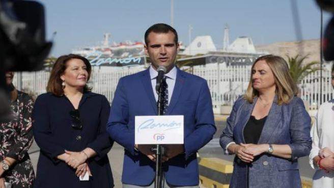 Almería.-26M.-Fernández-Pacheco (PP) valora sondeo que le da ganador: 'Nuestro principal acuerdo es con los almerienses'