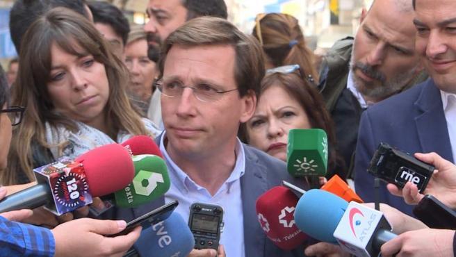 """Almeida emplaza a Carmena a """"cumplir su compromiso"""" y aprobar Nuevo Norte"""