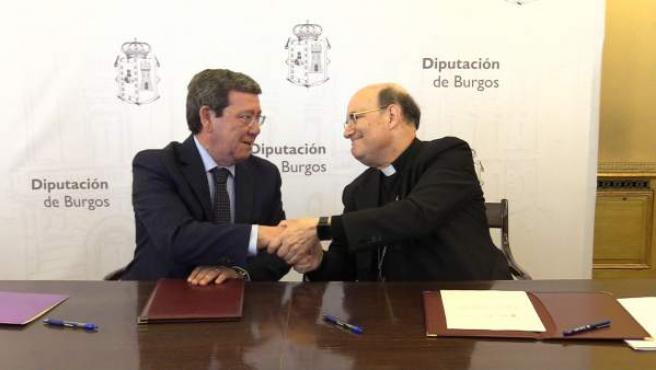La Diputación de Burgos destina un millón a la conservación y reparación de iglesias en 2019
