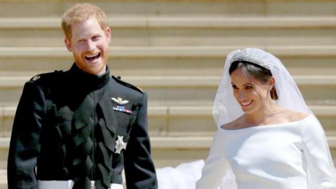 El príncipe Harry y Meghan Markle se casaron el 19 de mayo de 2018.