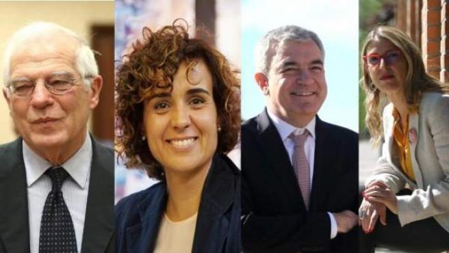 Josep Borrell, Dolors Monserrat, Garicano y Rodriguez Palop se verán las caras