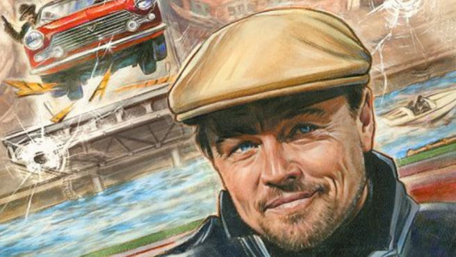 Estos pósters de 'Érase una vez en Hollywood' muestran a Leonardo DiCaprio como nunca lo habías visto