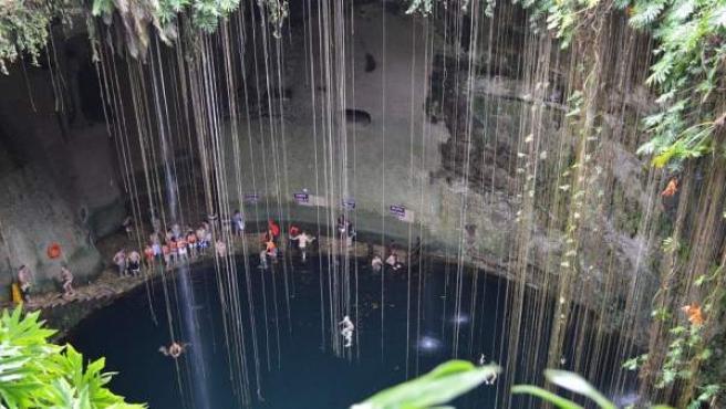La península de Yucatán (México) es conocida por tener cientos de cenotes.