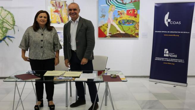 Sevilla.-Convenio entre Ayuntamiento y Colegio de Arquitectos para presentar telemáticamente licencias y acortar plazos
