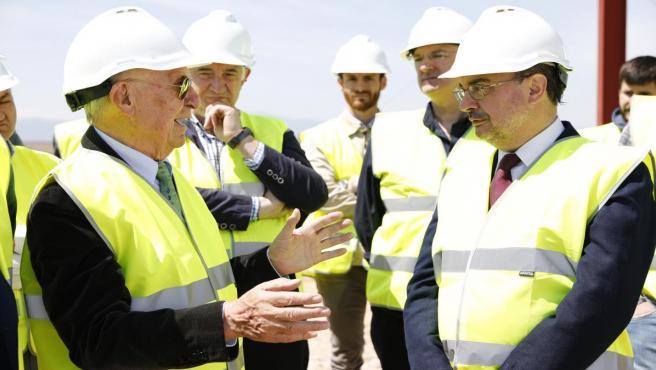 Zaragoza.- El centro logístico de BonÁrea en Épila estará listo en año y medio