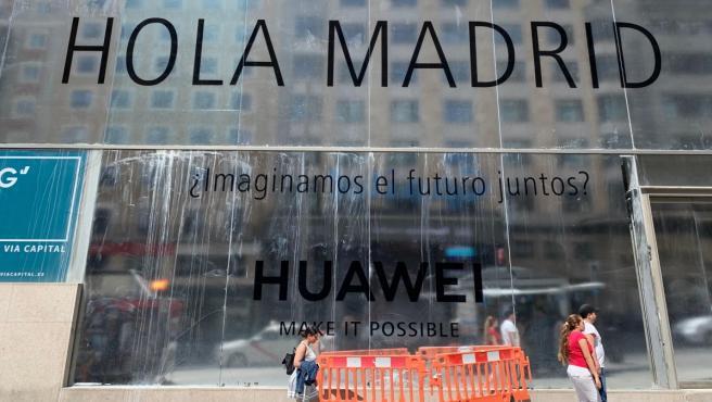 Sede de Huawei en Madrid, cuya inauguración está prevista para el próximo junio.