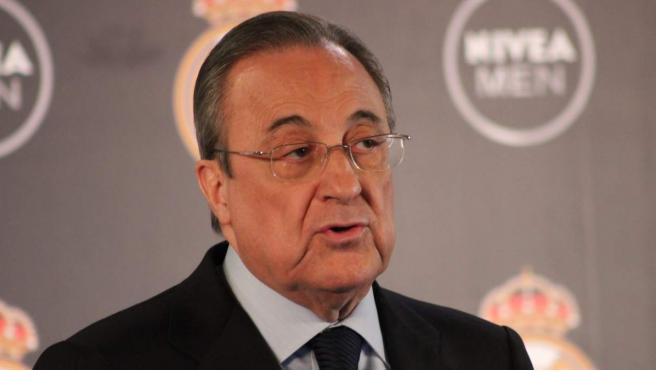 <p>Florentino Pérez, presidente del Real Madrid</p>