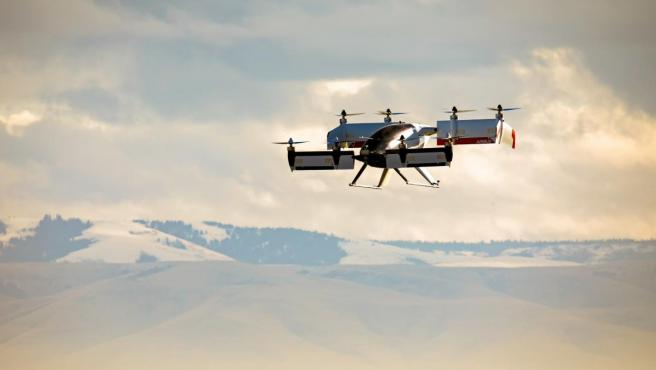 Vahana, el prototipo de taxi volador de Airbus.