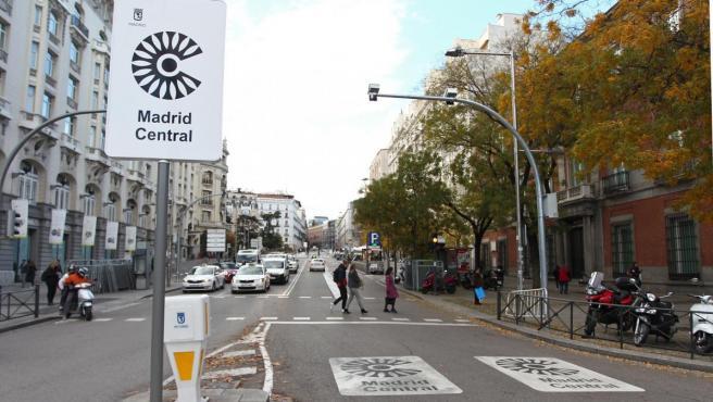 El 30 de noviembre entró en vigor Madrid Central, área restringida a residentes en el centro de Madrid.