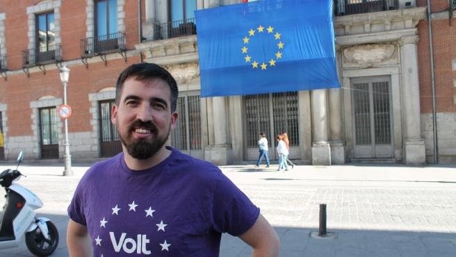 El cabeza de lista de Volt Europa en España, Bruno Sánchez-Andrade.