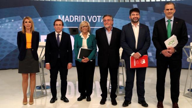 Debate de candidatos al Ayuntamiento de Madrid en Telemadrid