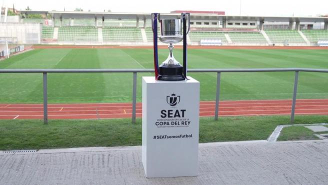 La Copa del Rey ya está en el Benito Villamarín para la final.