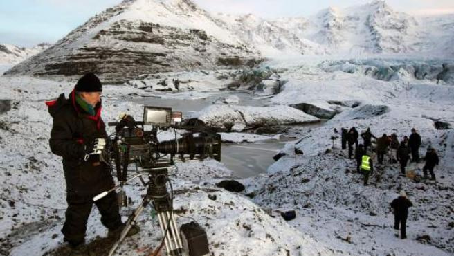 Rodaje de 'Juego de tronos' en Islandia.