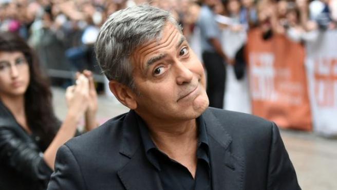 El actor George Clooney, en el Festival Internacional de Toronto, en 2015.