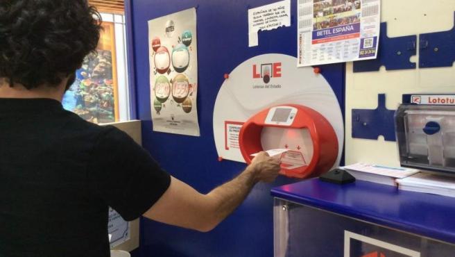 Un acertante de Puebla de Sancho Pérez (Badajoz) gana 150.000 euros en el sorteo de la Bonoloto