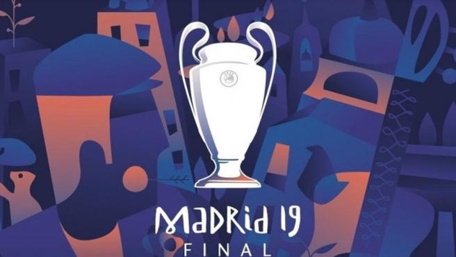 La imagen de la final de la Champions League 2019, en Madrid.