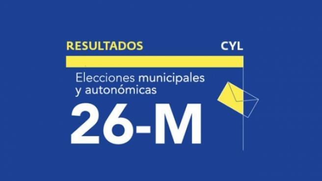 Resultados en Castilla y León de las elecciones autonómicas y municipales 2019.
