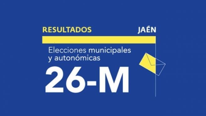 Resultados en Jaén de las elecciones municipales 2019.