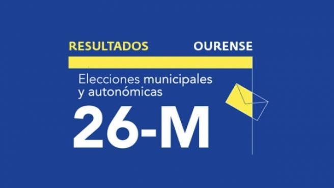 Resultados en Ourense de las elecciones municipales 2019.