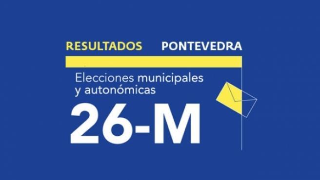 Resultados en Pontevedra de las elecciones municipales 2019.