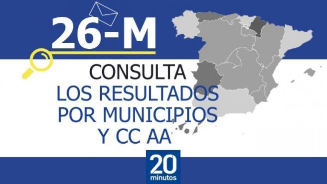 Consulta los resultados de las elecciones autonómicas y municipales 2019.