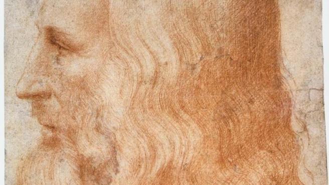 Retrato de Leonardo da Vinci, por su discípulo Francesco Melzi (1510).