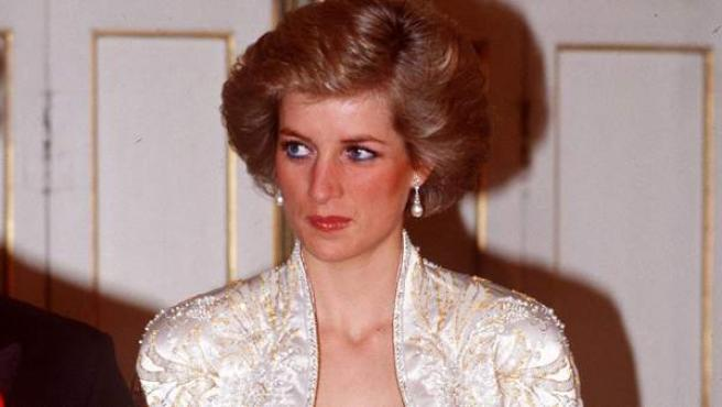 La princesa de Gales en un acto oficial en Francia.