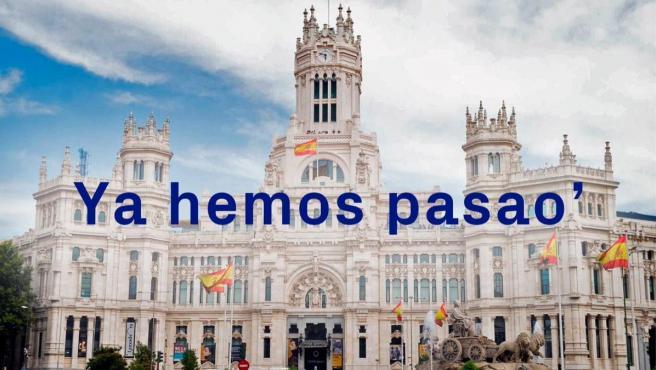Tuit de Vox tras las elecciones en Madrid.