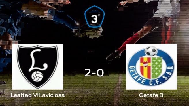 Derrota 2-0 del Getafe B frente al Lealtad Villaviciosa en el partido de ida de los playoff de ascenso a Segunda División B