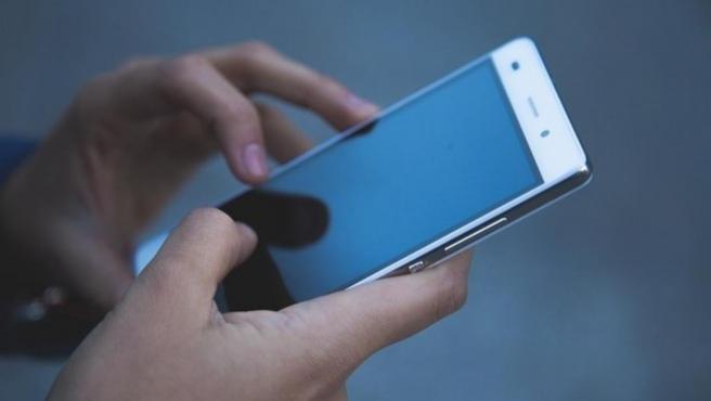 Imagen de archivo de un teléfono móvil.