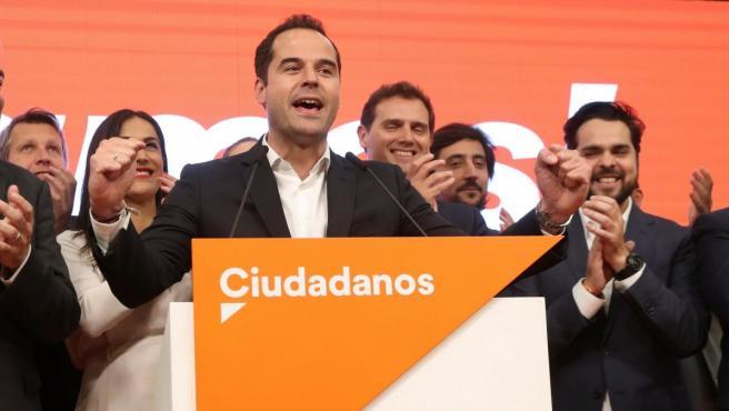 El líder del PP en la Asamblea de Madrid, Ignacio Aguado.