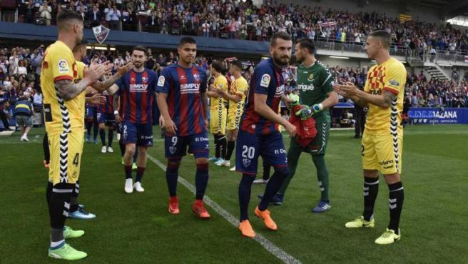 El Huesca-Nástic de Tarragona de la temporada 2017-18 está en el centro de las sospechas de amaño.