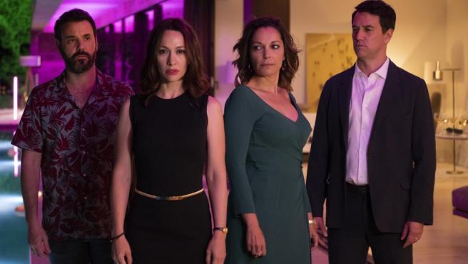 Los protagonistas de 'El Nudo', la serie de Antena 3.