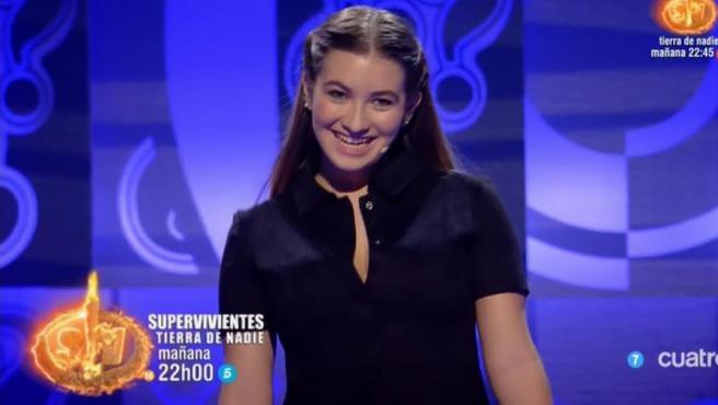 La actriz Carlota Boza.
