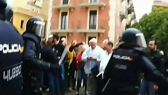 Imagen de uno de los vídeos emitidos.