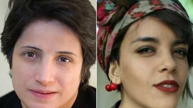 Nasrin Sotoudeh y Yasaman Aryani, detenidas en relación a las protestas contra el velo obligatorio en Irán