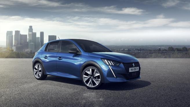El nuevo Peugeot e-208 cuenta con un motor eléctrico de 136 caballos de potencia.