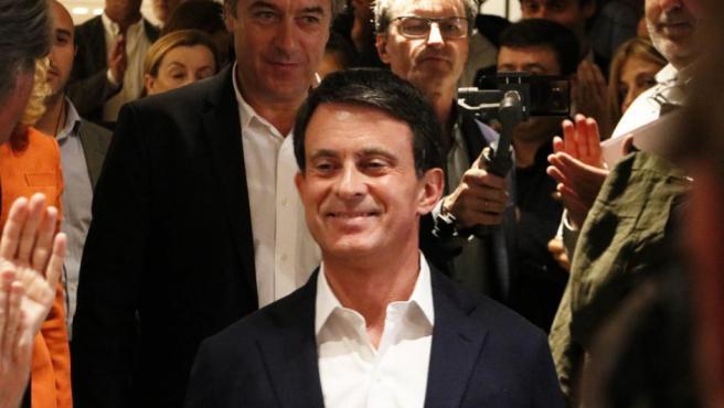 Manuel Valls, ex primer ministro francés y candidato a la alcaldía de Barcelona.
