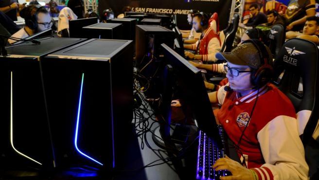 Un 'gamer' en la 'DreamHack'