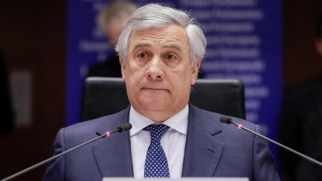 El presidente del Parlamento Europeo, Antonio Tajani.