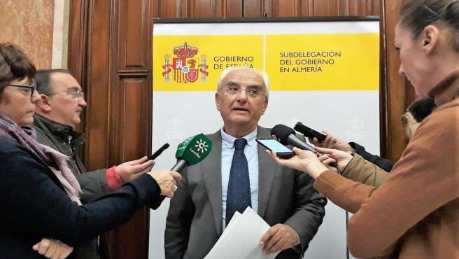 Almería.-El subdelegado tacha de 'intolerable' las 'incidencias y retrasos' del tren entre Almería y Madrid
