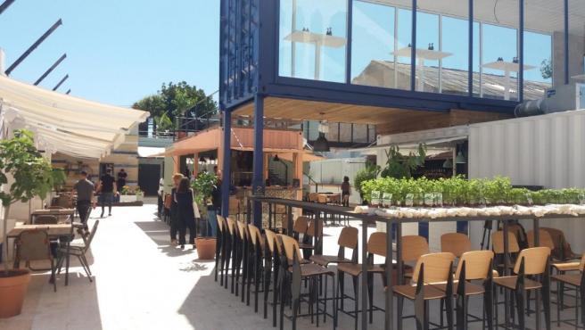 Valencia.- El espacio 'Mercabañal' abre este viernes con 1.200 metros cuadrados de 'disfrute gastronómico' al aire libre