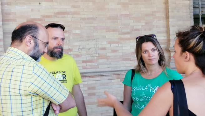 Sevilla.- Padres presentan 'unas 30 denuncias' ante Inspección de Trabajo por altas temperaturas en aulas escolares