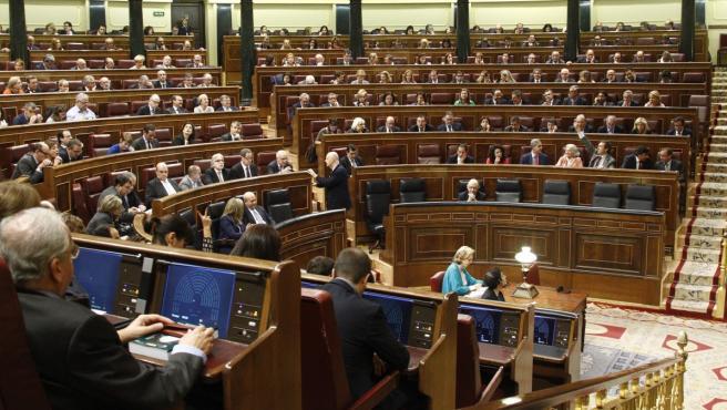 Imagen de archivo del Congreso de los Diputados.
