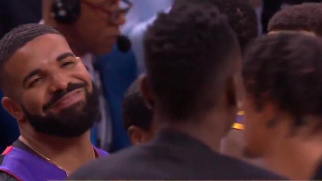 Drake provocó y llegó a insultar al ala pívot en presencia de Stephen Curry.