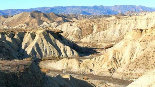 El desierto de Tabernas.