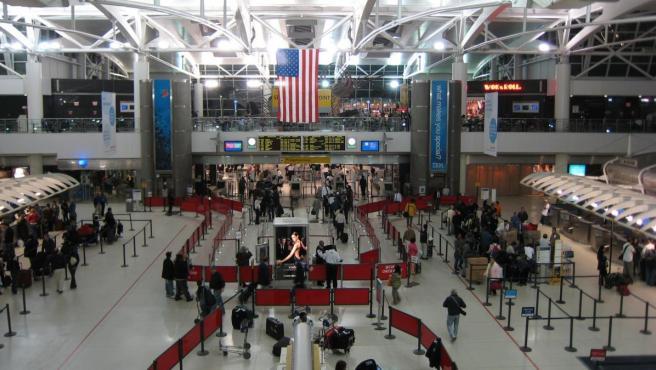 Imagen de la terminal 1 del aerouerto JFK de Nueva York.