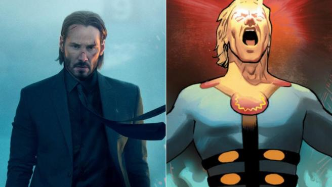 ¿Estará Keanu Reeves al frente de los Eternos de Marvel?