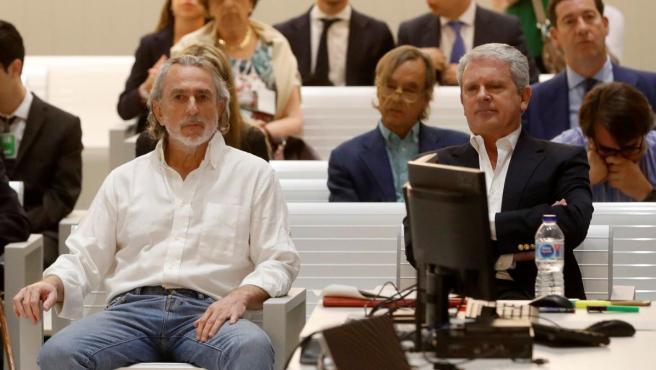 El cabecilla de la trama Gürtel, Francisco Correa, y su número dos, Pablo Crespo.