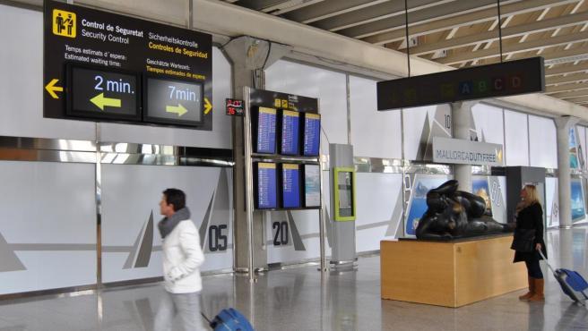 Imagen de archivo del Aeropuerto de Palma de Mallorca.